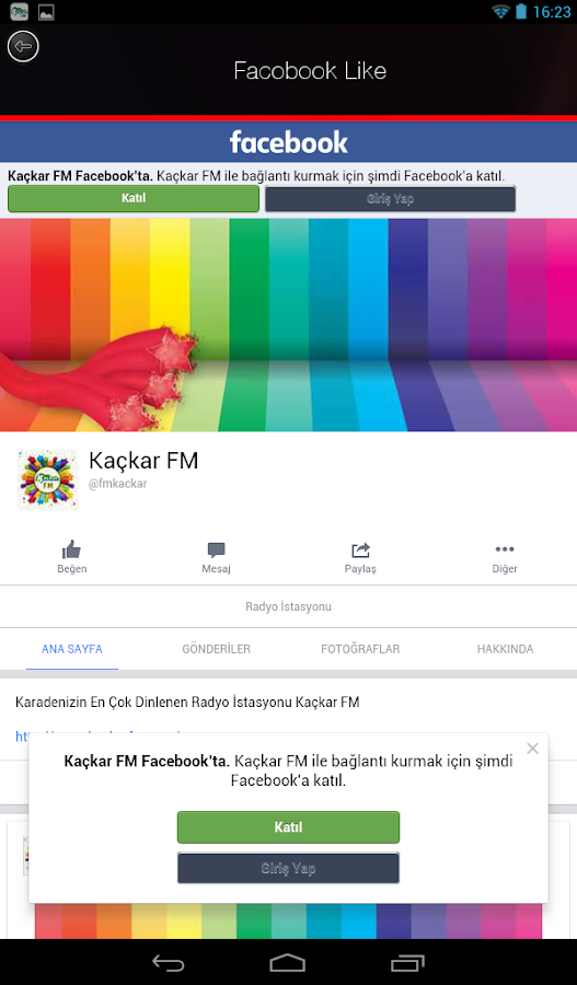 Kaçkar Radyo- screenshot
