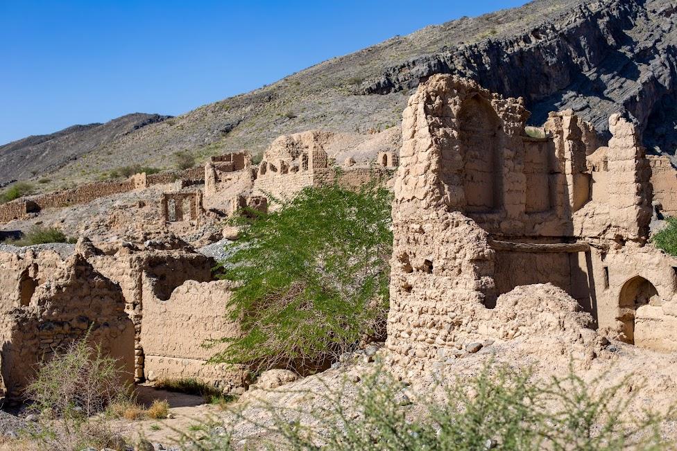 Tanuf, ruiny wioski