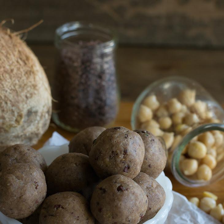 Raw Cookie Dough Truffles Recipe