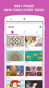 Colory: Free Adult Coloring- screenshot thumbnail