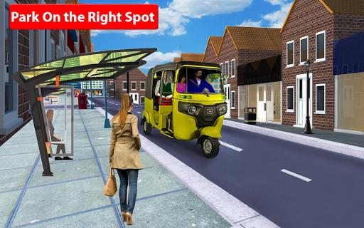 Rickshaw Driving Simulator - Drive New Games screenshots 12