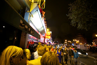 Photo: Waiting to see the cabaret at the Moulin Rouge