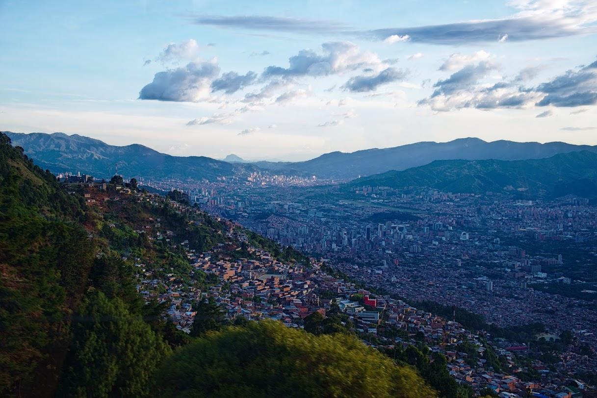 Medellin widoki