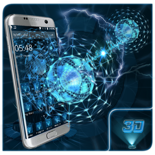 3D Next Technical 2 Theme app (apk) free download for Android/PC/Windows