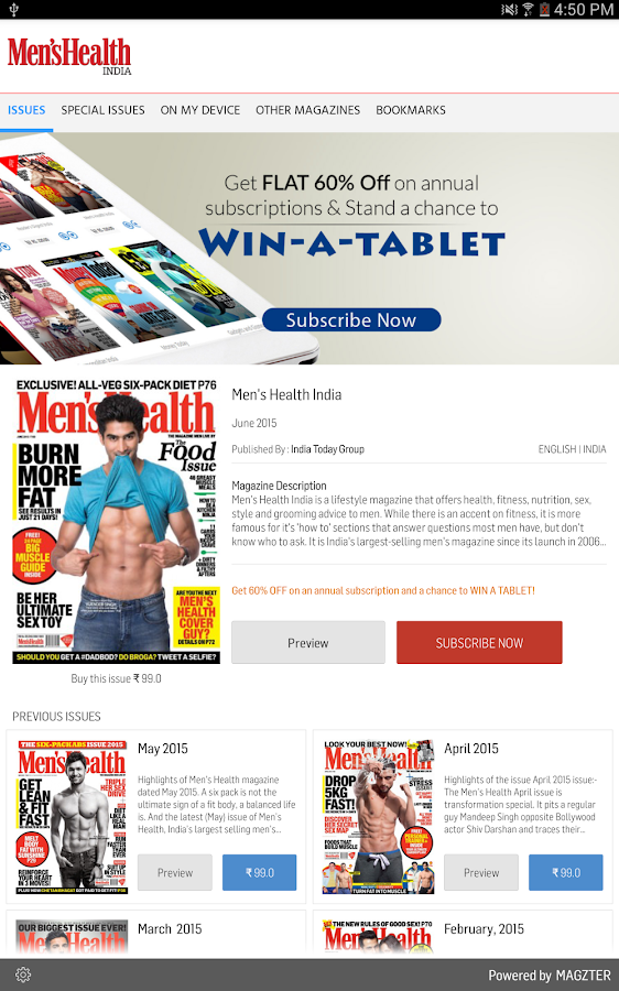 Men's Health India- screenshot