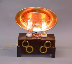 Photo: Double 8 Steampunk Lamp