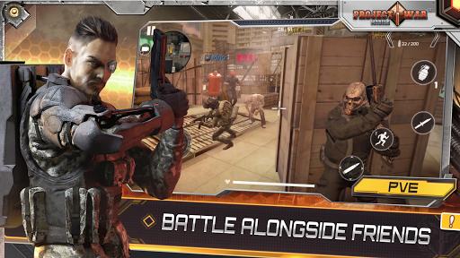 Projet de Guerre Mobile - jeu de tir en ligne APK MOD – Pièces de Monnaie Illimitées (Astuce) screenshots hack proof 1