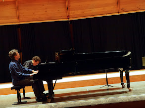 Photo: The Classical impro concert: David and Karst