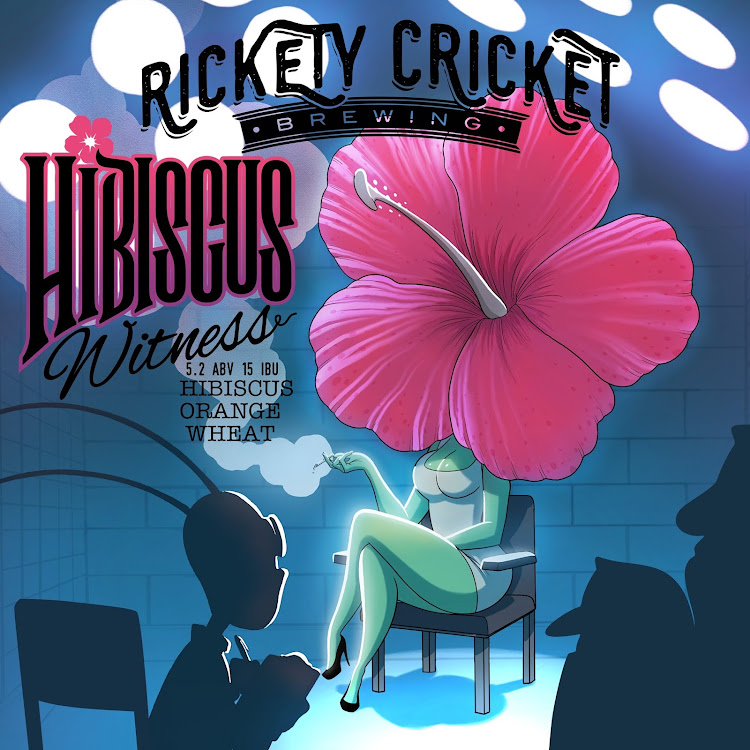 Logo of Rickety Cricket Brewing Hibiscus Wit-ness