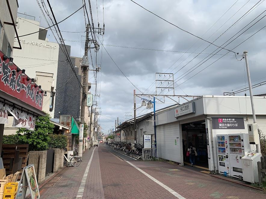 矢口渡駅外観