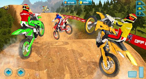 Offroad Moto Hill Bike Racing Game 3D  captures d'écran 2