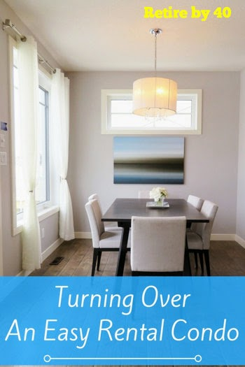 Turning Over An Easy Rental Condo