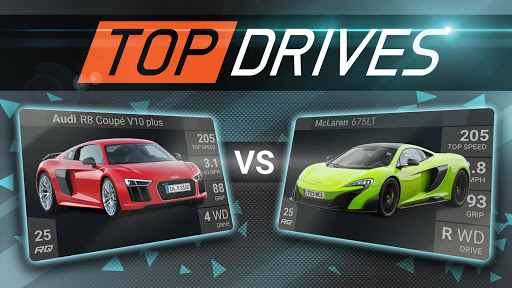 Top Drives – Cartes de voitures du course APK MOD screenshots 1