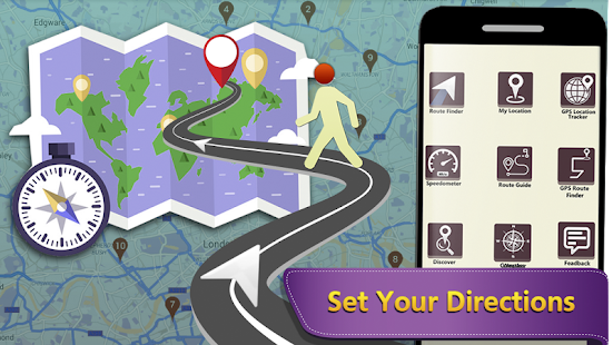 GPS Maps Navigation: Find your way - náhled