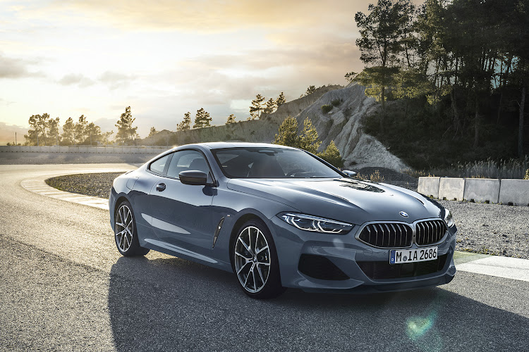 The BMW 8 Series Coupe.