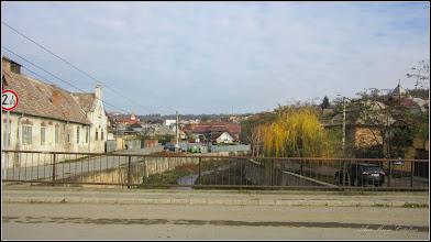 Photo: Str. Abatorului, vedere de pe pod - 2017.11.01