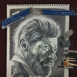 Sketch of Logan by Siddhartha Sinha by Siddhartha Sinha - Drawing All Drawing ( sketching, art, wolverine, logan, drawing, sketch, pencil )