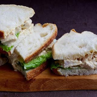 Coronation Chicken Sandwiches.