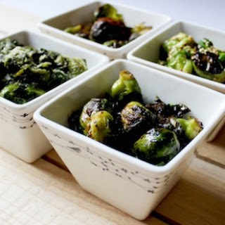Maple Glazed Ginger Brussel Sprouts