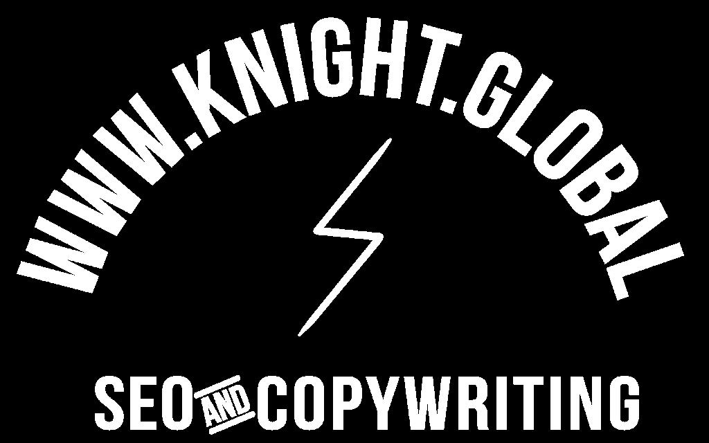 knight logo in white