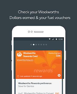 Woolworths Money App- screenshot thumbnail