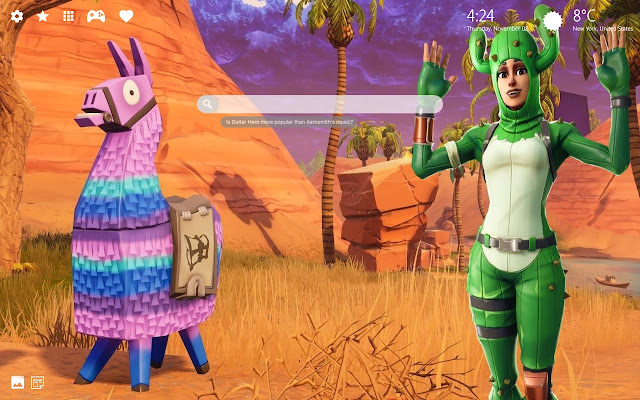 Prickly Patroller Fortnite Skin HD Wallpaper