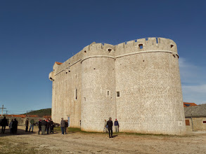 Photo: The city church was interesting because of it's fortification.