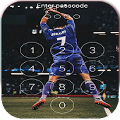 Keypad Lock Screen for C.Ronaldo 7 Free