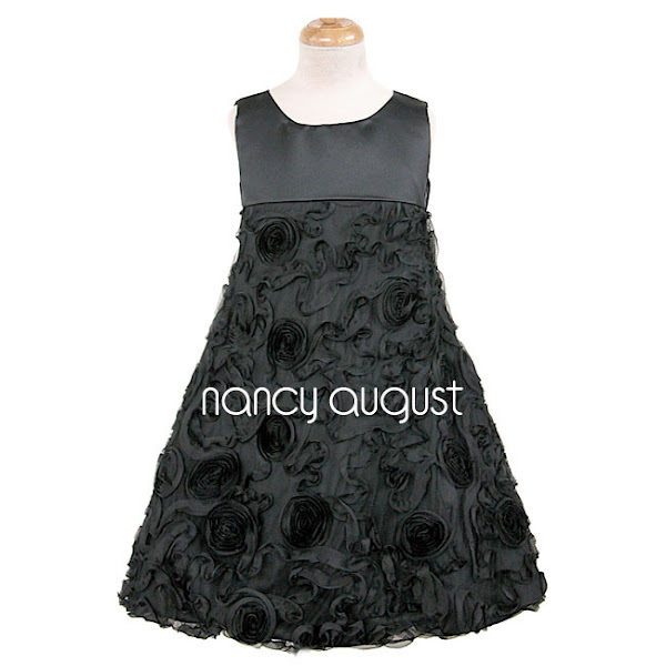 Photo: #Delightful #Rosette #Swirl Flower #Girl #Dress: This is the perfect little party dress for your flower girl if you are shopping around for a dress that is not only fashionable, but comfortable! The delightful rosette swirl flower girl dress embodies all that is simple and fun! The quality, matte satin bodice is minimalistic and chic as it provides balance to the extra fun skirt! The skirt swings out into an A-line silhouette and is covered with swirls of mesh ribbons that create adorable curvilinear lines and swirly circles! For the back of the dress, you will find an invisible zipper and an extra long and wide adjustable waist sash to create a full and fancy bow! This is one of our most delightful and oh-so-cutesy flower girl dresses we have in stock for the spring season!