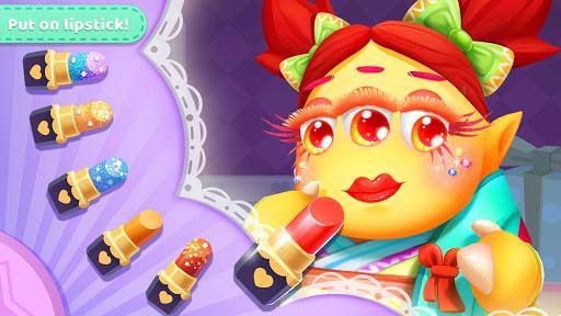 little monster's makeup game screenshot 2