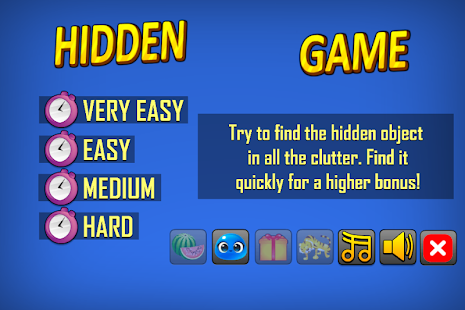 Hidden Free Game- screenshot thumbnail