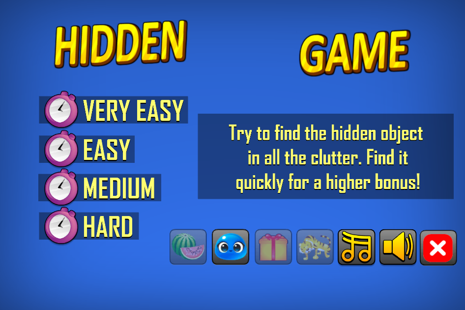 Hidden Free Game- screenshot