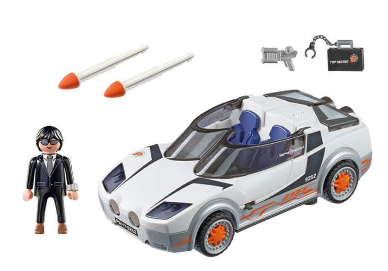 Contenido Real de Playmobil® 9252 Agente Secreto y Racer