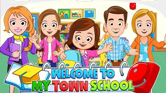 My Town : School مدرسة Mod
