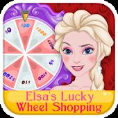 Elsa Lucky Wheel Shopping