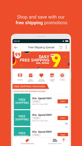 Shopee MY: 9.9 Shopping Day 2.60.07 Screenshots 3