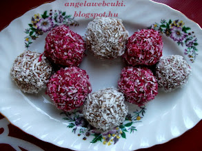 Photo: Kekszgolyó recept ( Betti-féle )