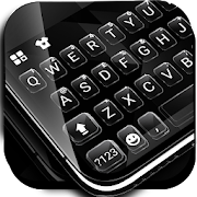 App Simple Black Glass Keyboard Theme APK for Windows Phone