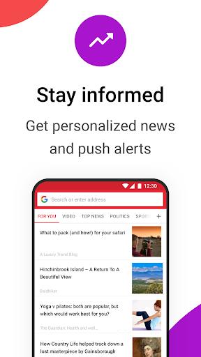 Opera Mini browser beta screenshot 5