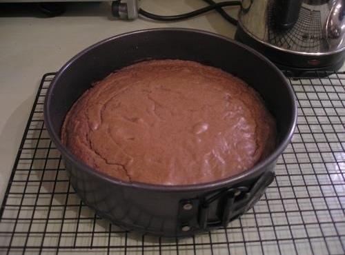 pour into your prepared cake tin , place in the pre-heated oven for 1...