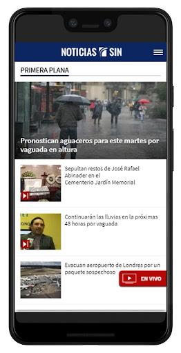 Noticias SIN screenshots 1