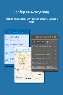 Floating Apps (multitasking) Screenshot
