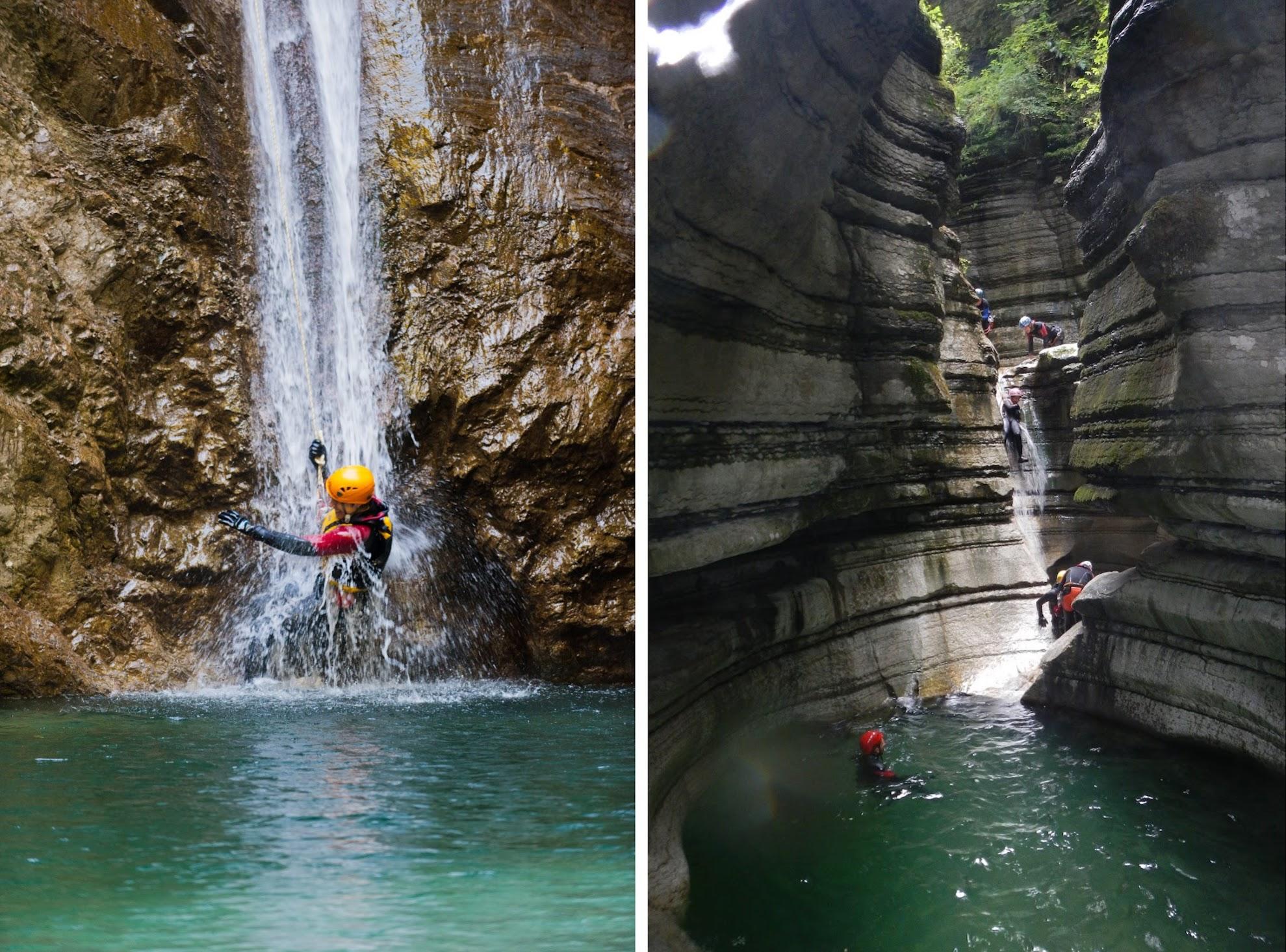 Canyoning Val di Ledro