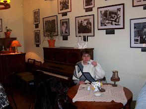 Photo: Stylowa kawiarenka w Muzeum Powstania Warszawskiego w Warszawie.
