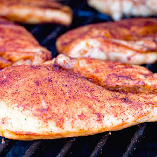 BBQ Smoked Chicken Breasts.