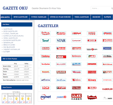 Gazete Oku - screenshot