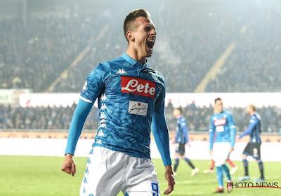 Naples s'impose facilement contre Frosinone, Mertens préservé