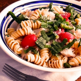 One Bowl Fish and Summer Pasta