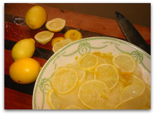 Lemon Prep: Thoroughly wash  lemons , dry with paper towels. Finely grate lemons of...