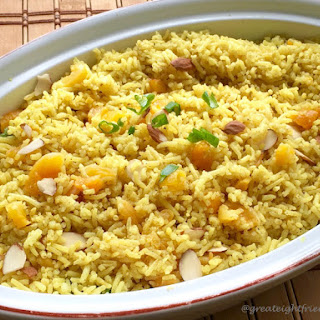 Basmati Pilaf with Dried Fruit and Nuts